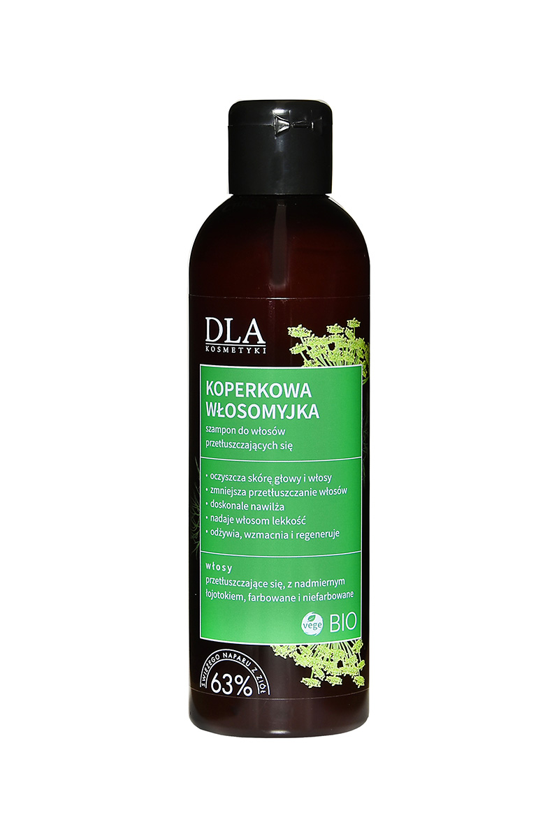 KOPERKOWA WŁOSOMYJKA <br>szampon do włosów przetłuszczających się